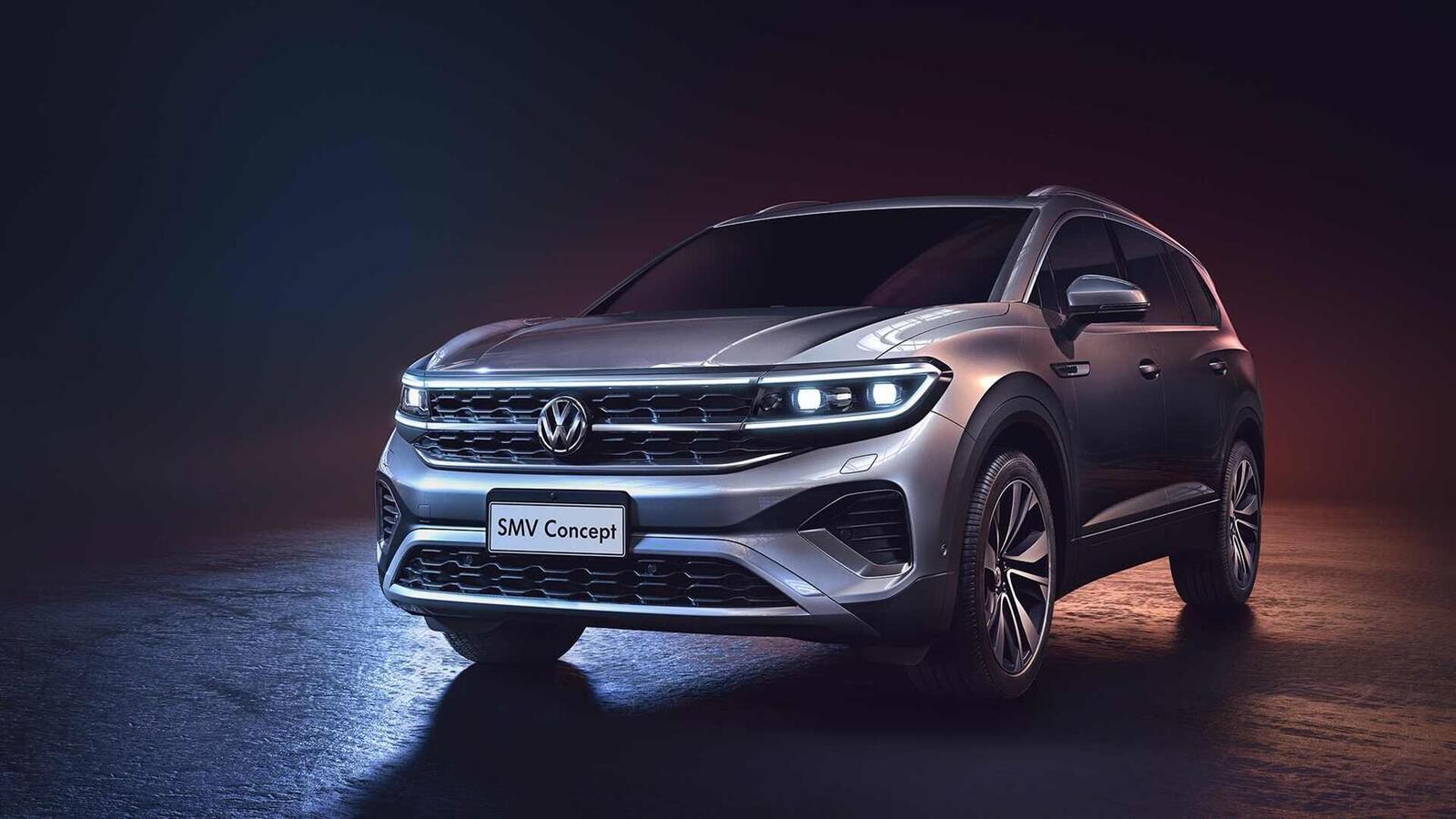 Volkswagen giới thiệu SUV SMV Concept hoàn toàn mới: Dài hơn 5m và lớn hơn cả Touareg - Hình 1