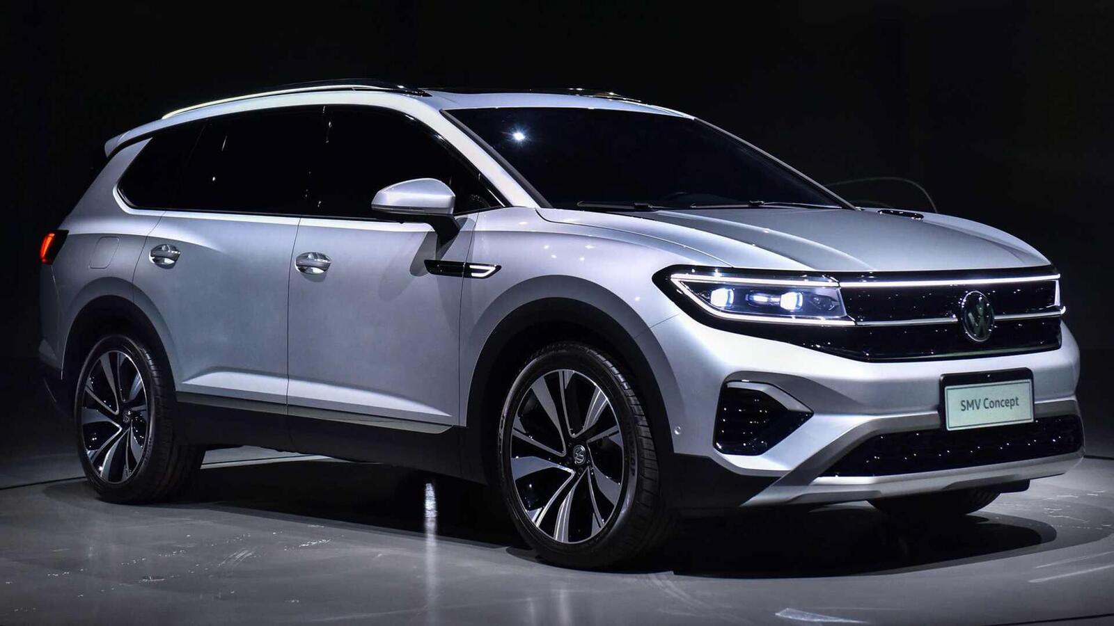 Volkswagen giới thiệu SUV SMV Concept hoàn toàn mới: Dài hơn 5m và lớn hơn cả Touareg - Hình 2