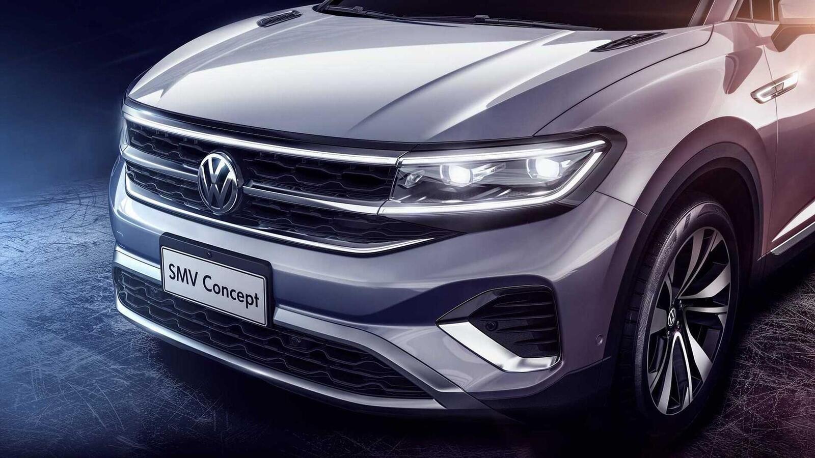 Volkswagen giới thiệu SUV SMV Concept hoàn toàn mới: Dài hơn 5m và lớn hơn cả Touareg - Hình 3