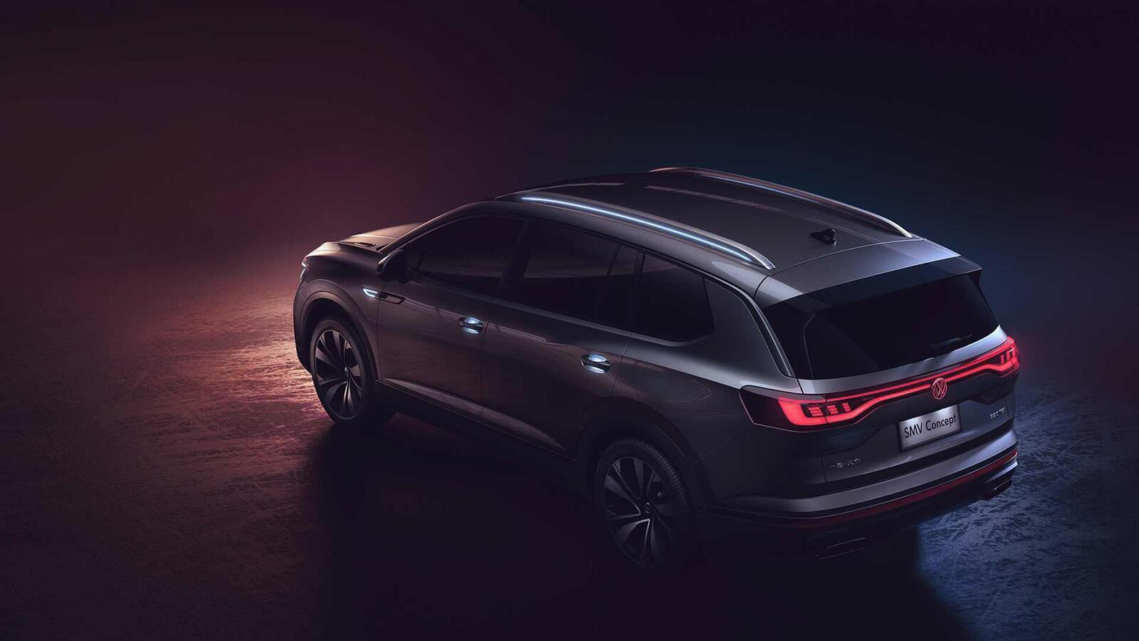 Volkswagen giới thiệu SUV SMV Concept hoàn toàn mới: Dài hơn 5m và lớn hơn cả Touareg - Hình 5