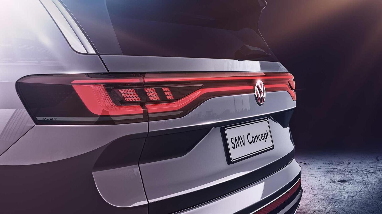 Volkswagen giới thiệu SUV SMV Concept hoàn toàn mới: Dài hơn 5m và lớn hơn cả Touareg - Hình 7