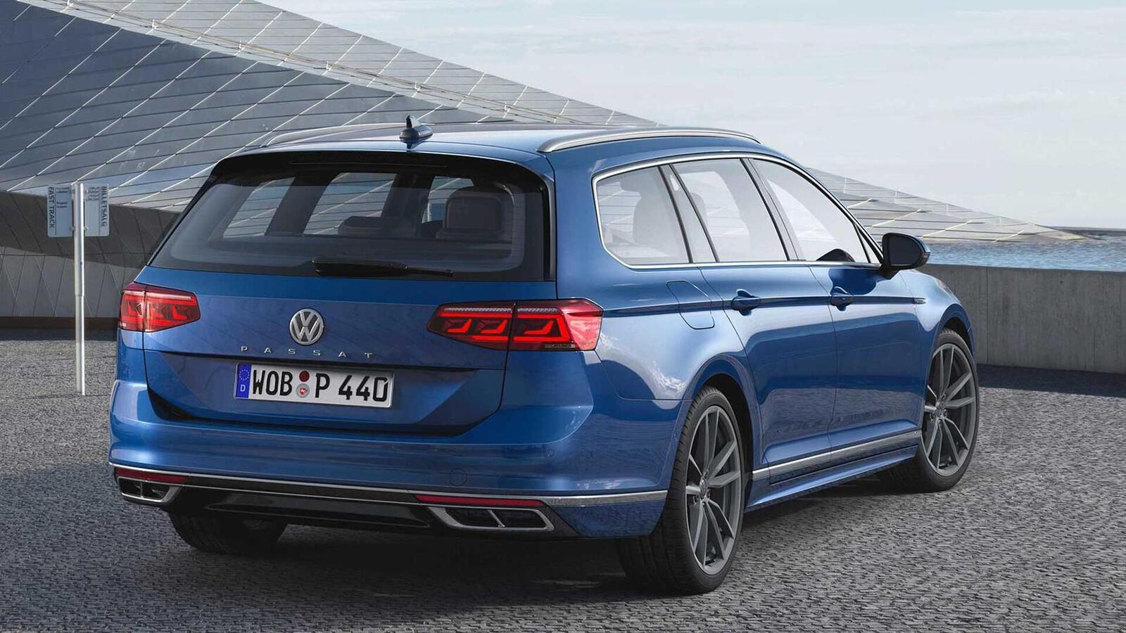 Volkswagen Passat 2020 mới phiên bản châu Âu; thêm đèn LED matrix; tương lai có thể về Việt Nam - Hình 21