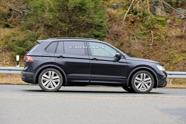 Volkswagen Tiguan 2020 lộ diện trần trụi, đe doạ Honda CR-V - Ảnh 2.
