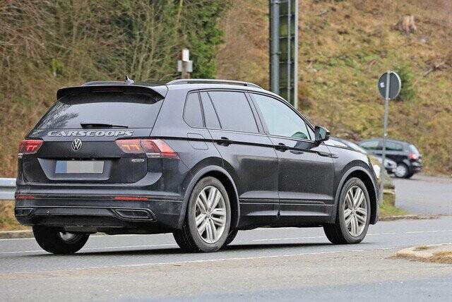 Volkswagen Tiguan 2020 lộ diện trần trụi, đe doạ Honda CR-V - Ảnh 3.
