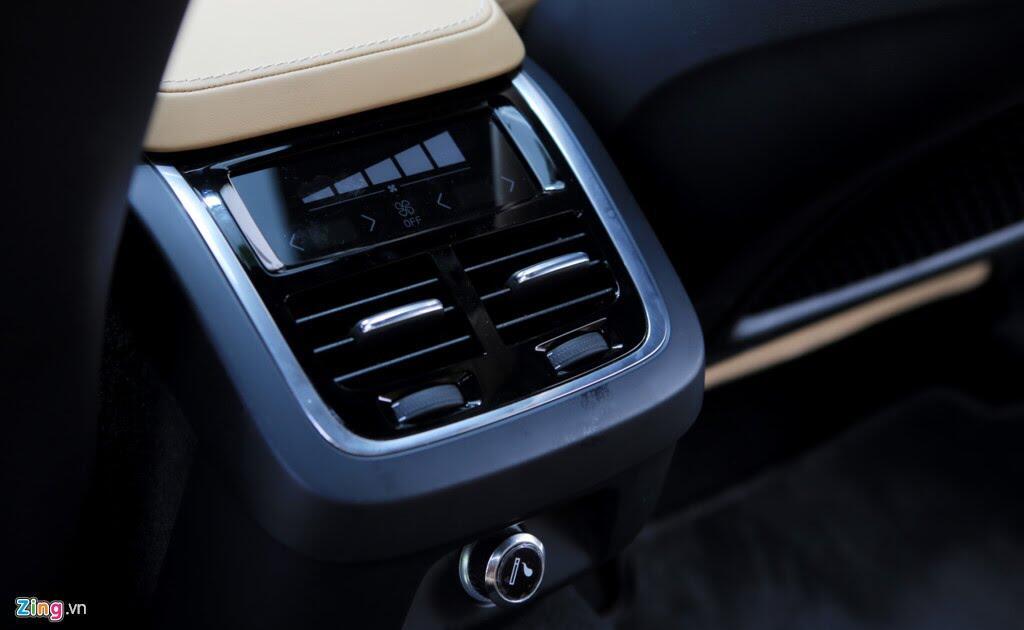 Volvo S90 Inscription - sedan cỡ trung hạng sang mới ở Việt Nam - Hình 10