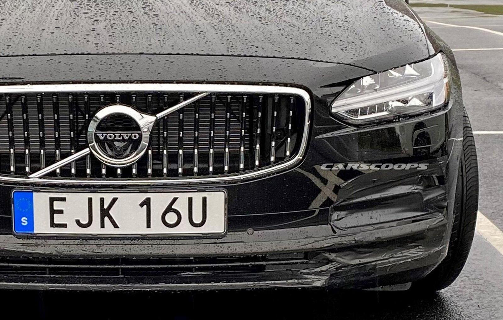 Volvo S90 sắp nâng cấp, thêm áp lực cho Mercedes-Benz E-Class