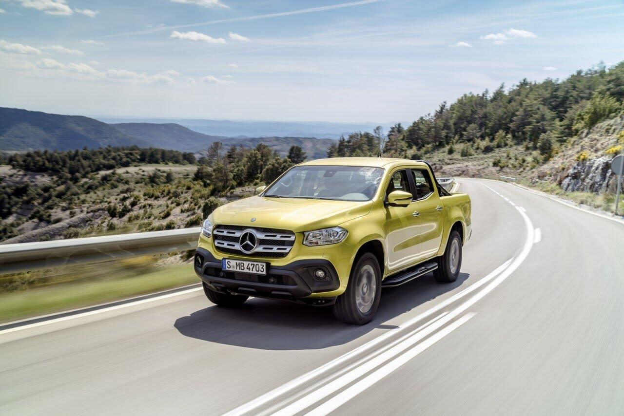X-Class - bán tải hạng sang đầu tiên của Mercedes chính thức ra mắt - Hình 2