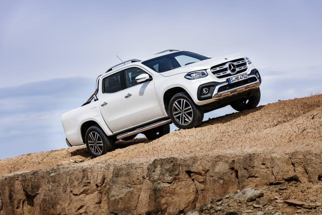 X-Class - bán tải hạng sang đầu tiên của Mercedes chính thức ra mắt - Hình 5