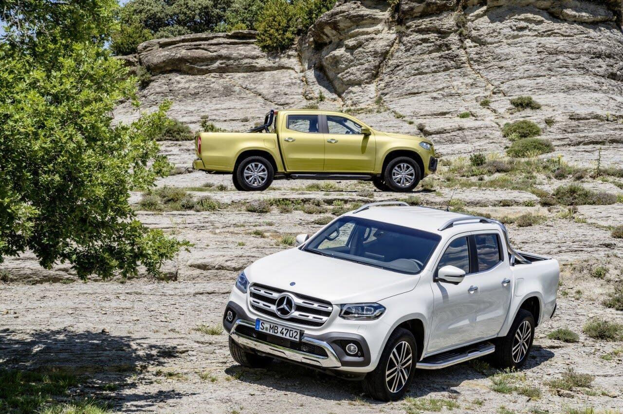 X-Class - bán tải hạng sang đầu tiên của Mercedes chính thức ra mắt - Hình 7