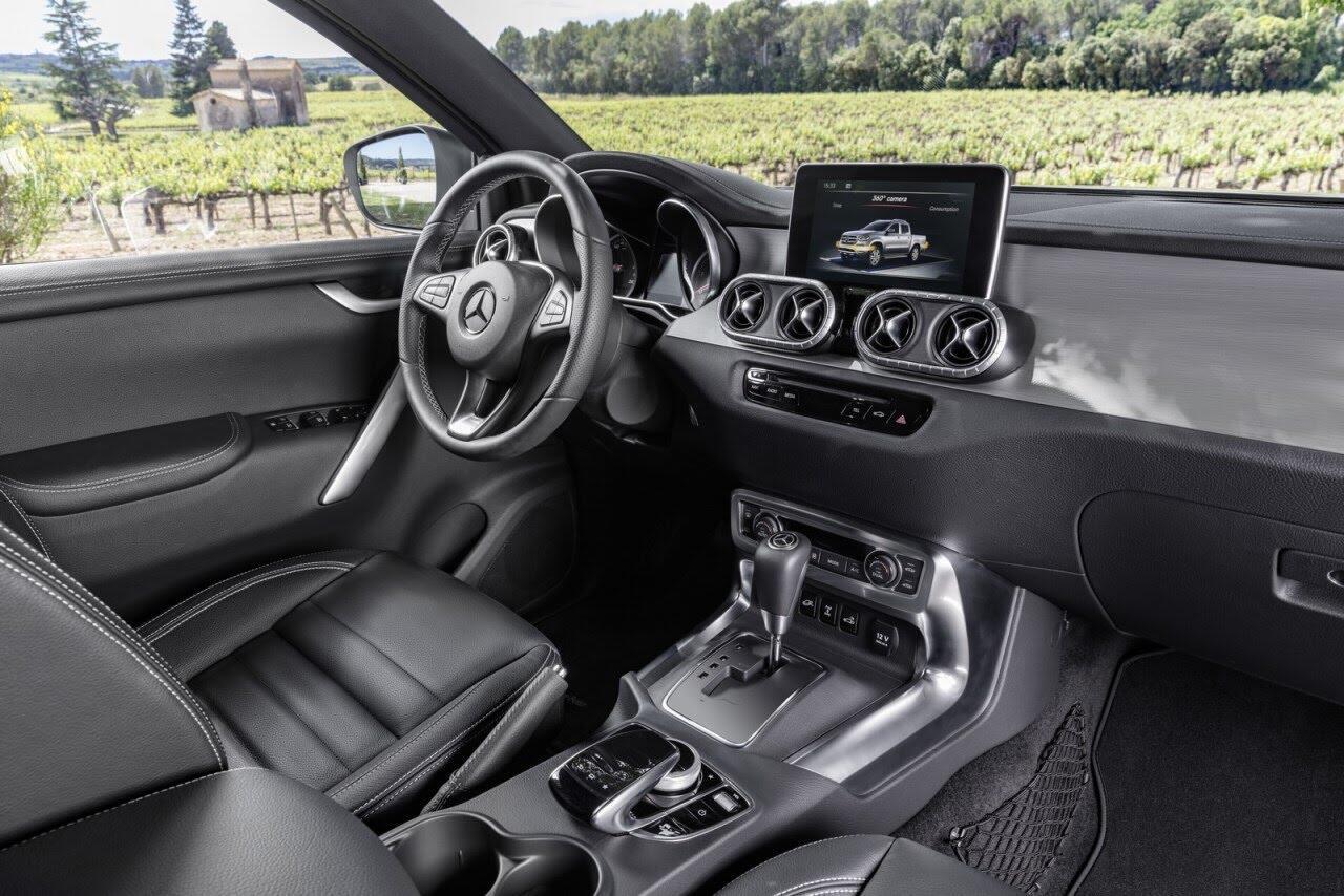 X-Class - bán tải hạng sang đầu tiên của Mercedes chính thức ra mắt - Hình 15