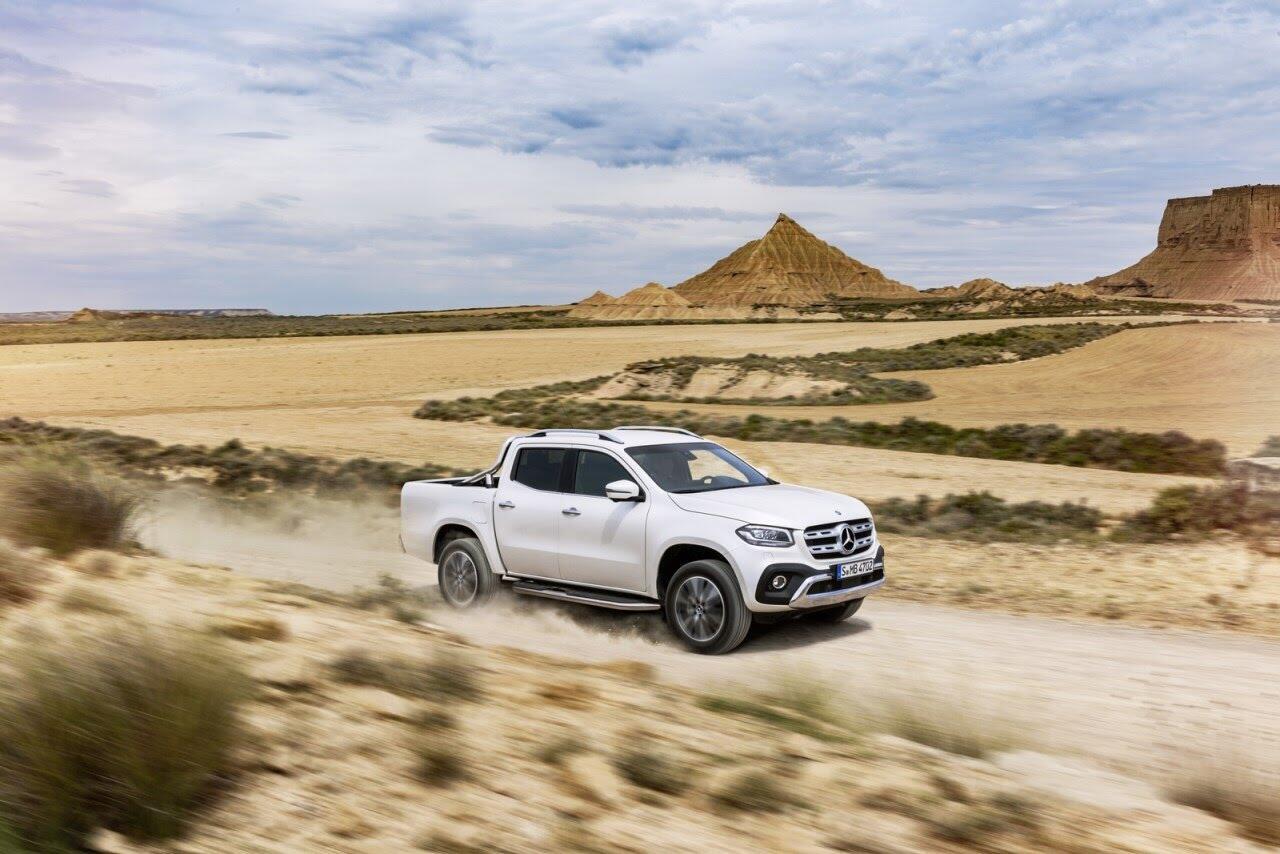 X-Class - bán tải hạng sang đầu tiên của Mercedes chính thức ra mắt - Hình 37