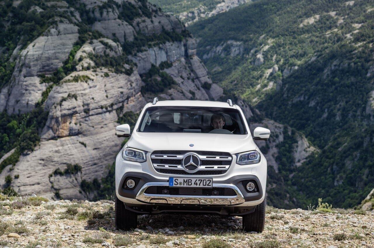 X-Class - bán tải hạng sang đầu tiên của Mercedes chính thức ra mắt - Hình 41
