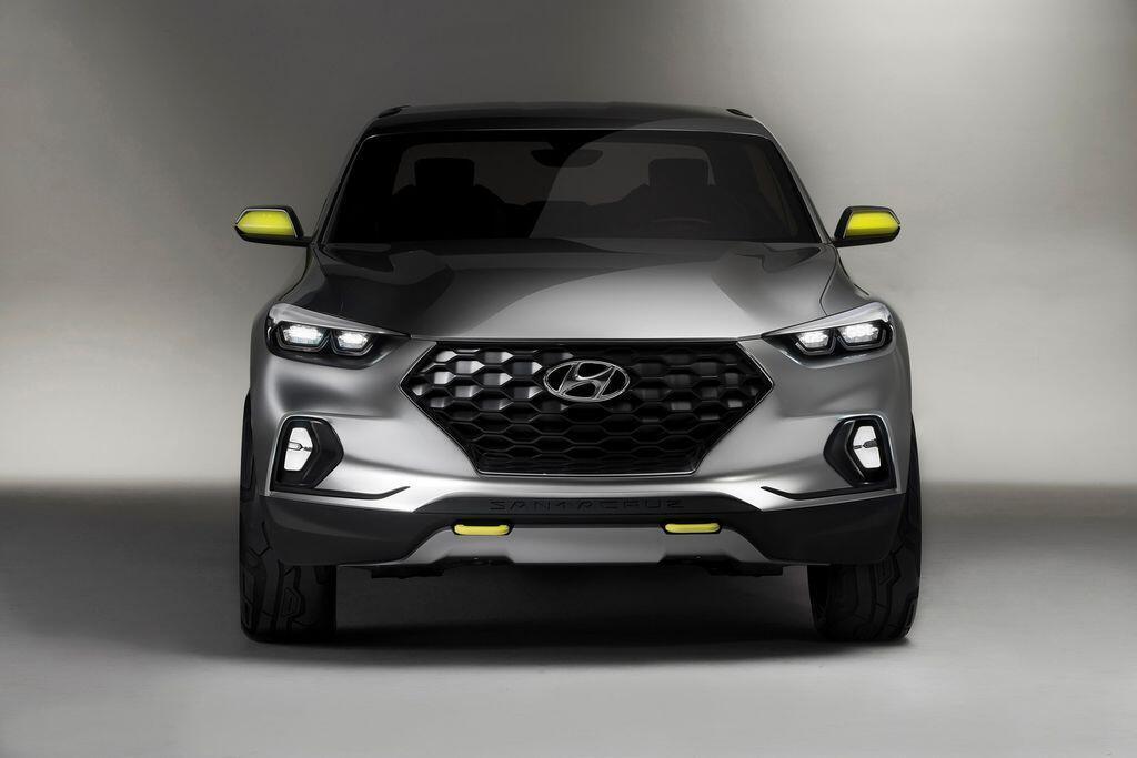 Xe bán tải Hyundai Santa Cruz dự kiến sẽ có mặt trên thị trường vào năm 2020 - Hình 1