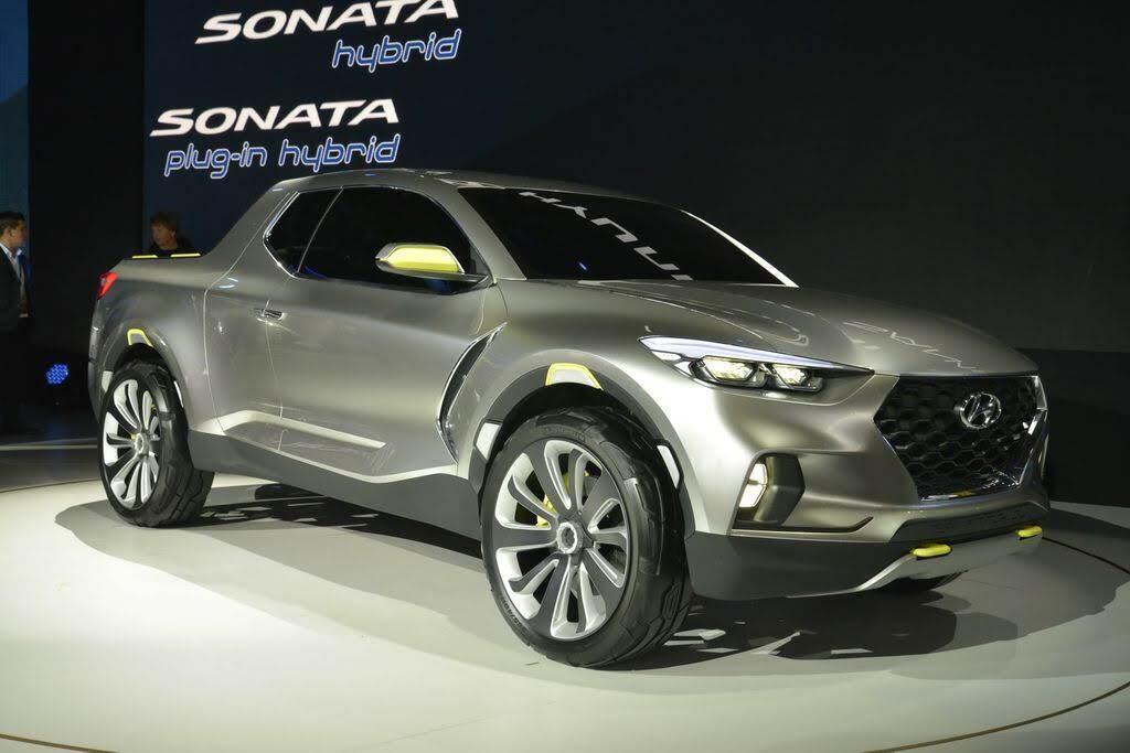 Xe bán tải Hyundai Santa Cruz dự kiến sẽ có mặt trên thị trường vào năm 2020 - Hình 2