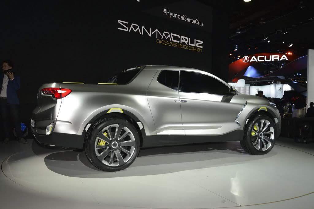 Xe bán tải Hyundai Santa Cruz dự kiến sẽ có mặt trên thị trường vào năm 2020 - Hình 3