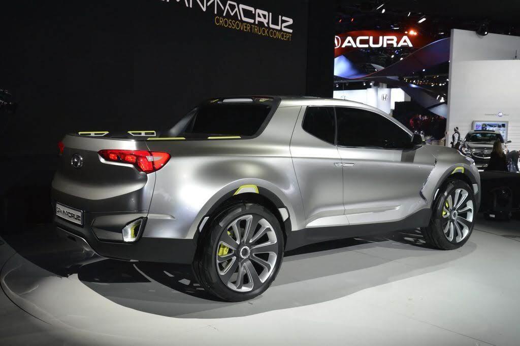 Xe bán tải Hyundai Santa Cruz dự kiến sẽ có mặt trên thị trường vào năm 2020 - Hình 5