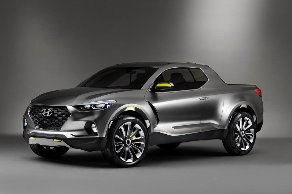Xe bán tải Hyundai Santa Cruz ra mắt năm 2020, giá dưới 19.000 USD - Hình 1