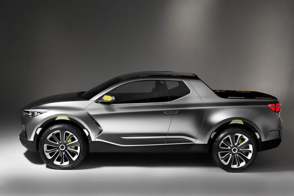 Xe bán tải Hyundai Santa Cruz ra mắt năm 2020, giá dưới 19.000 USD - Hình 3