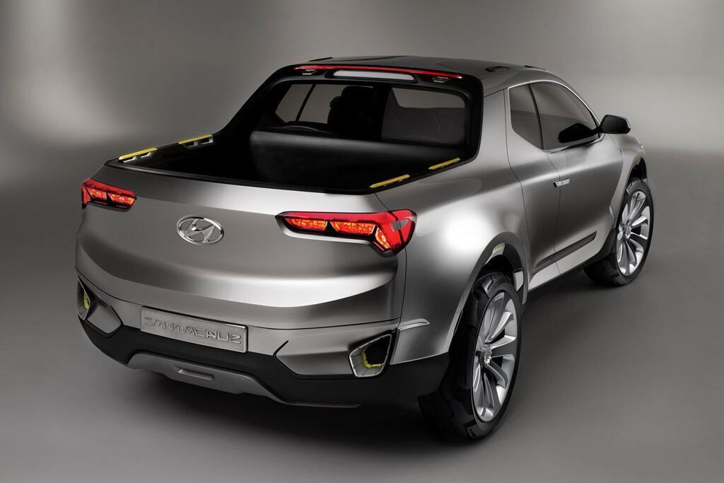 Xe bán tải Hyundai Santa Cruz ra mắt năm 2020, giá dưới 19.000 USD - Hình 4