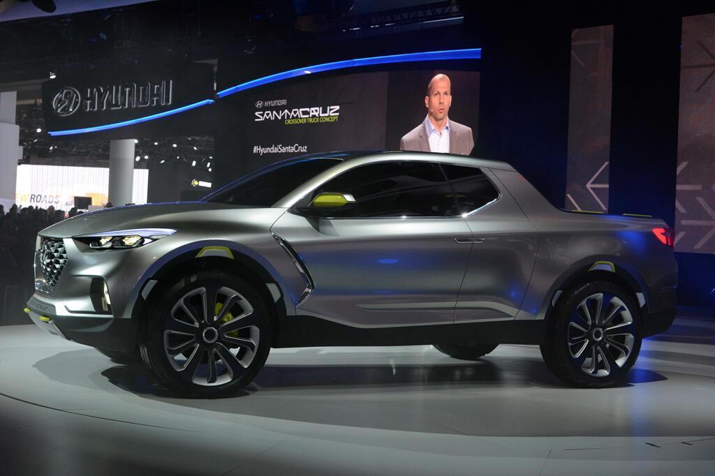 Xe bán tải Hyundai Santa Cruz ra mắt năm 2020, giá dưới 19.000 USD - Hình 5