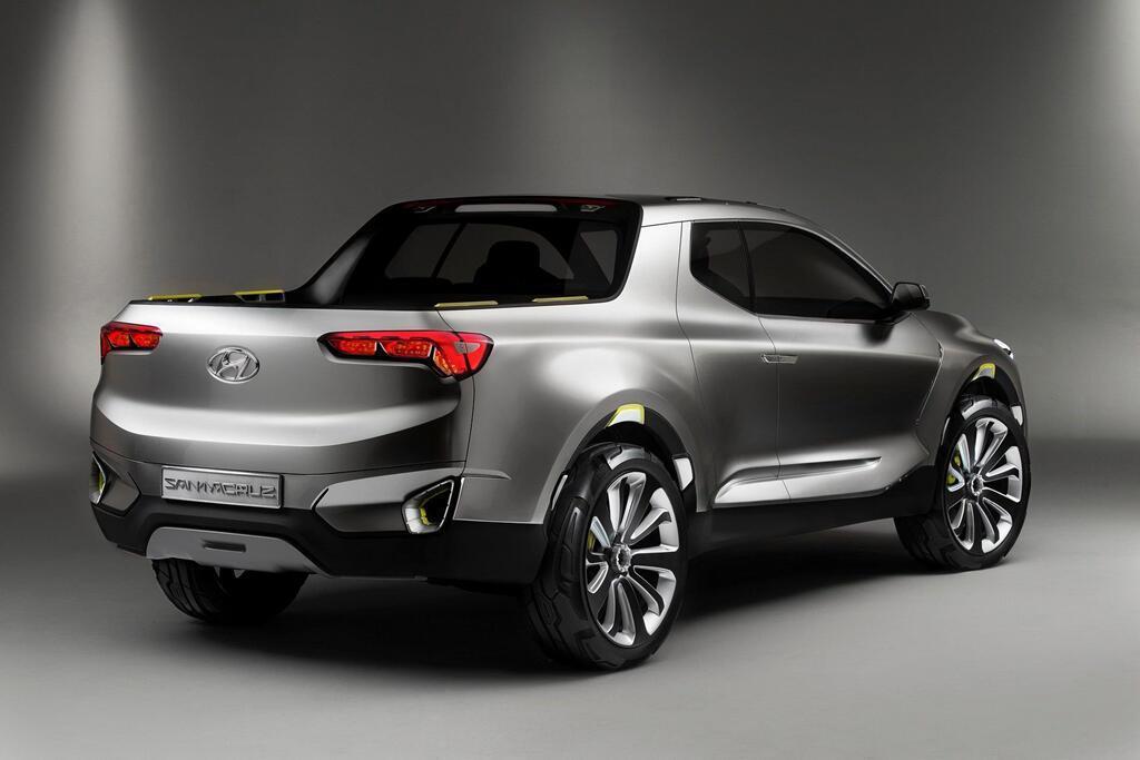 Xe bán tải Hyundai Santa Cruz ra mắt năm 2020, giá dưới 19.000 USD - Hình 6