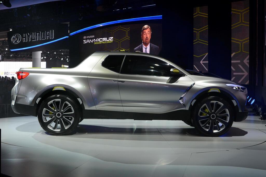 Xe bán tải Hyundai Santa Cruz ra mắt năm 2020, giá dưới 19.000 USD - Hình 8