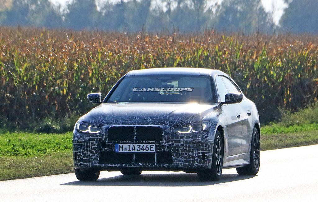 Xe điện BMW i4 2021 - công suất lên tới 523 sức ngựa