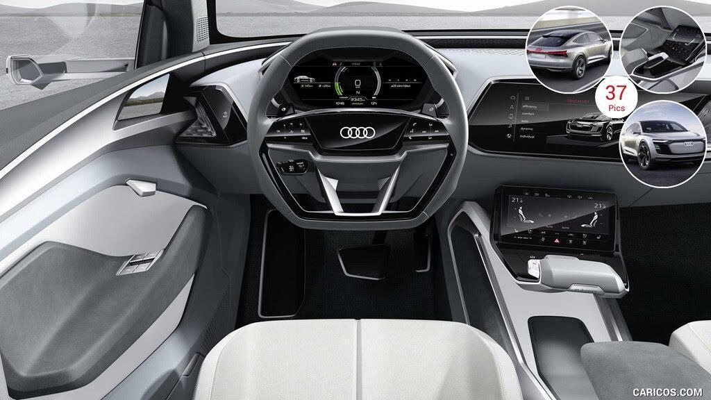 Xe điện của Audi dùng camera thay cho gương chiếu hậu - Hình 5