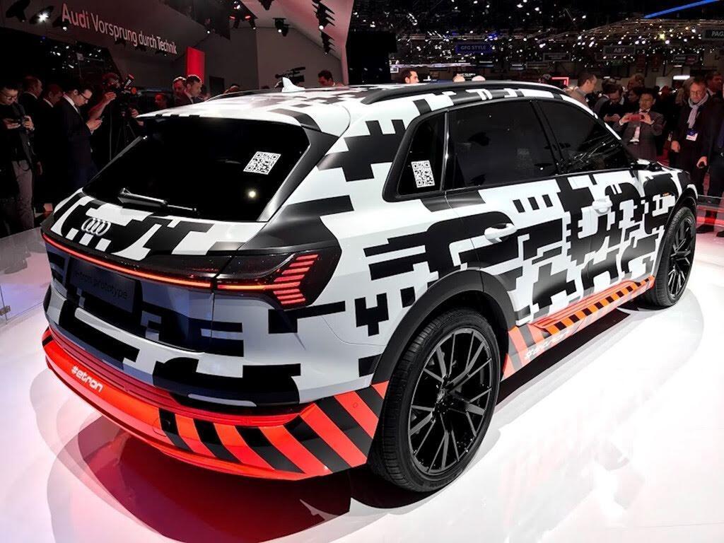 Xe điện của Audi dùng camera thay cho gương chiếu hậu - Hình 8