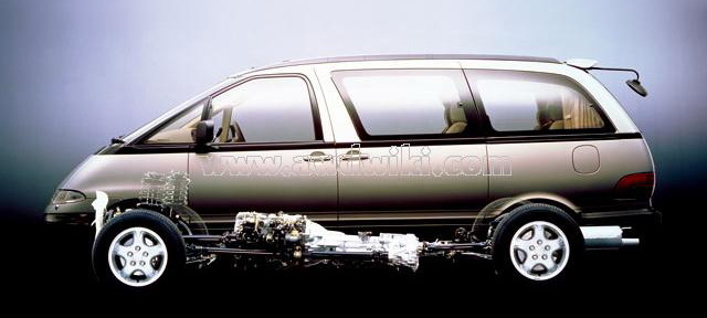 [Xe Độ & Đam Mê] MPV Toyota Previa 199x:  Chiếc xe thần thánh! - Hình 2