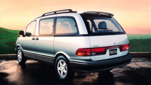 [Xe Độ & Đam Mê] MPV Toyota Previa 199x:  Chiếc xe thần thánh! - Hình 3