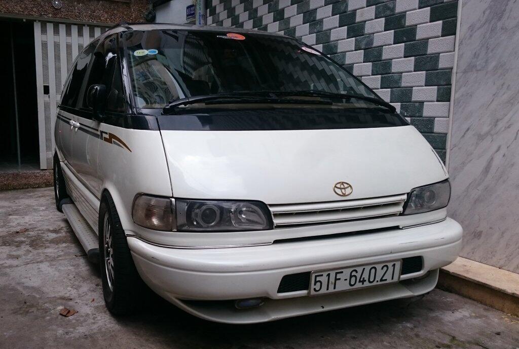 [Xe Độ & Đam Mê] MPV Toyota Previa 199x:  Chiếc xe thần thánh! - Hình 4