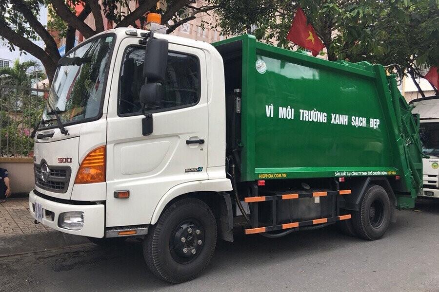 Tổng quan xe ép rác Hino