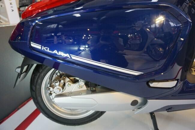 Xe ga Việt VinFast Klara khoe sắc lung linh tại Vietnam AutoExpo 2019 - Hình 11