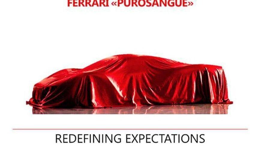 Xe gầm cao đầu tiên của Ferrari chính thức có tên Purosangue - Hình 1