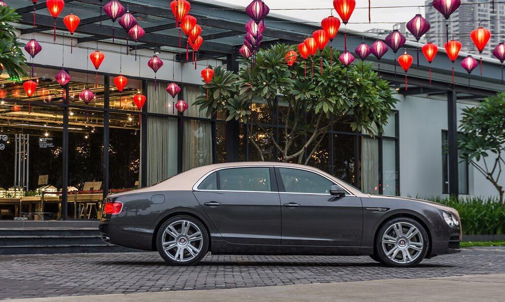 Xe siêu sang Bentley Flying Spur hàng độc tại Việt Nam - Hình 3