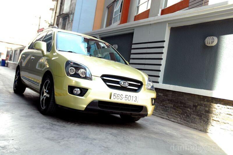 Kia Carens 2010 vẫn sử dụng hộp số tự động 4 cấp lạc hậu