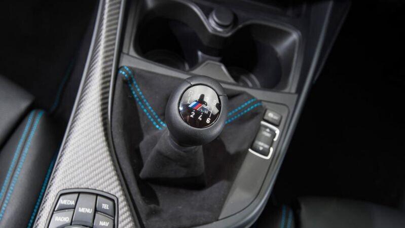 Hộp số sàn trên BMW M2 Coupe