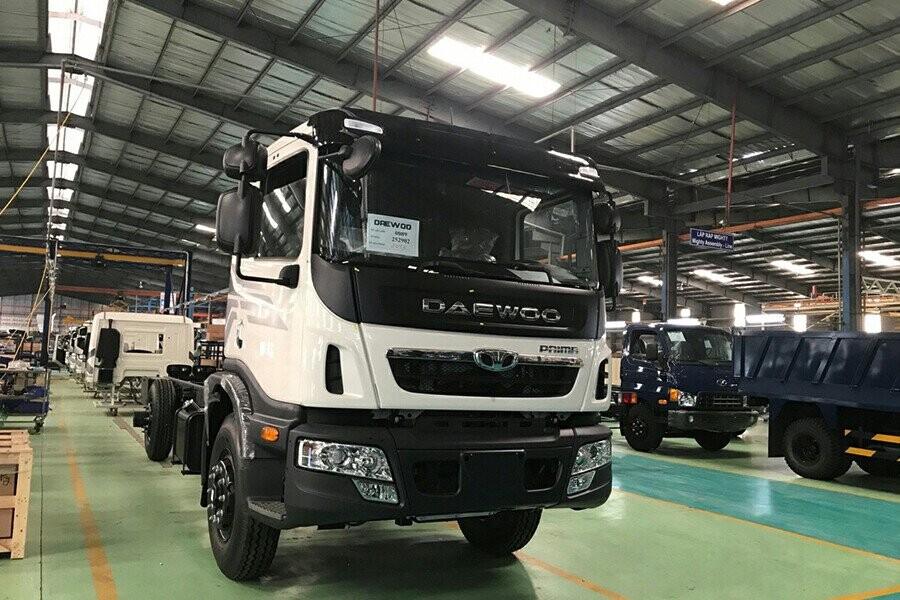 Tổng quan xe tải Daewoo