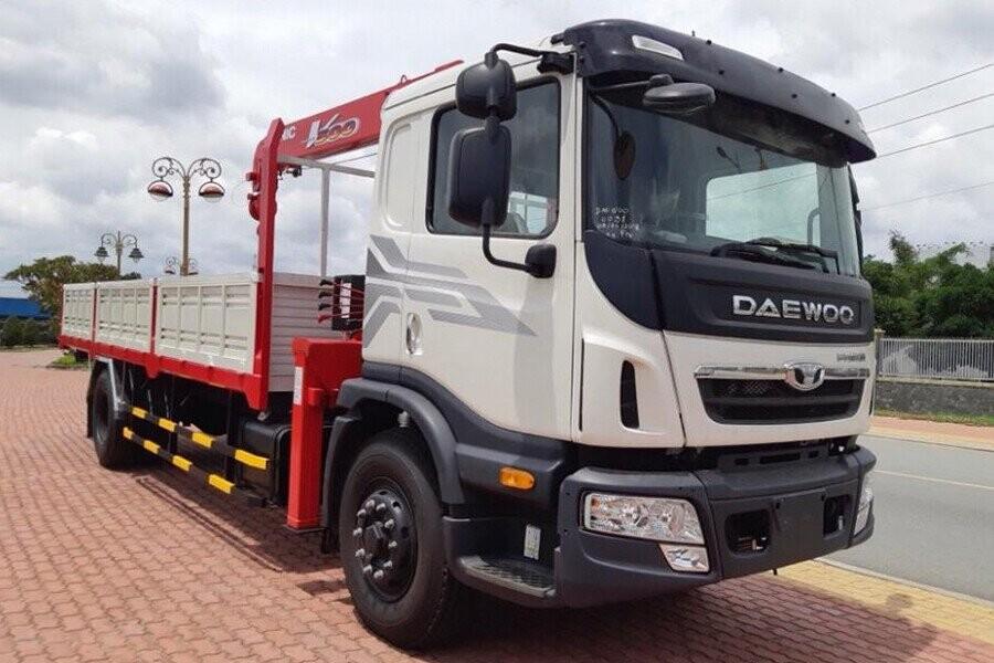 Tổng quan xe tải Daewoo gắn cẩu