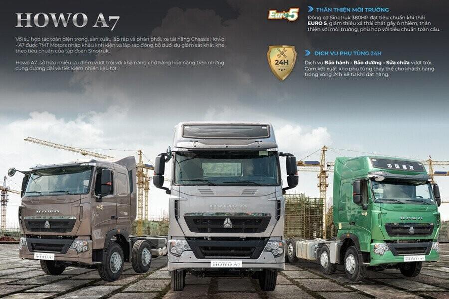 Tổng Quan xe tải Howo 5 chân – A7P