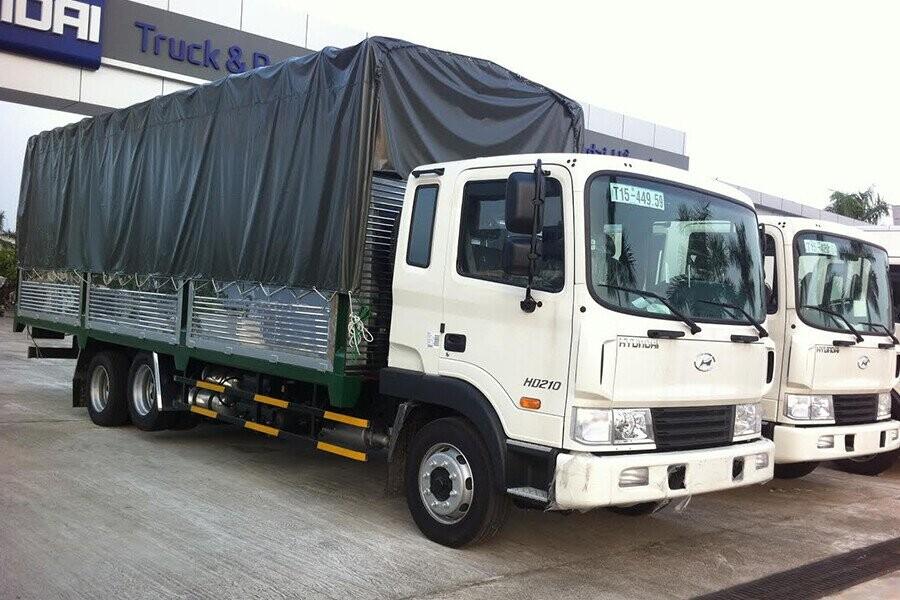 Tổng Quan xe tải Hyundai 14.5 tấn HD210
