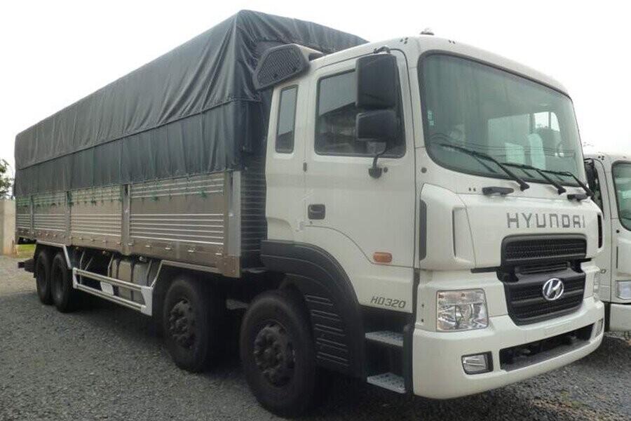 Tổng Quan xe tải Hyundai 17.9 tấn HD320