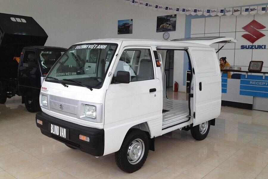 Tổng quan Xe tải Suzuki Blind Van