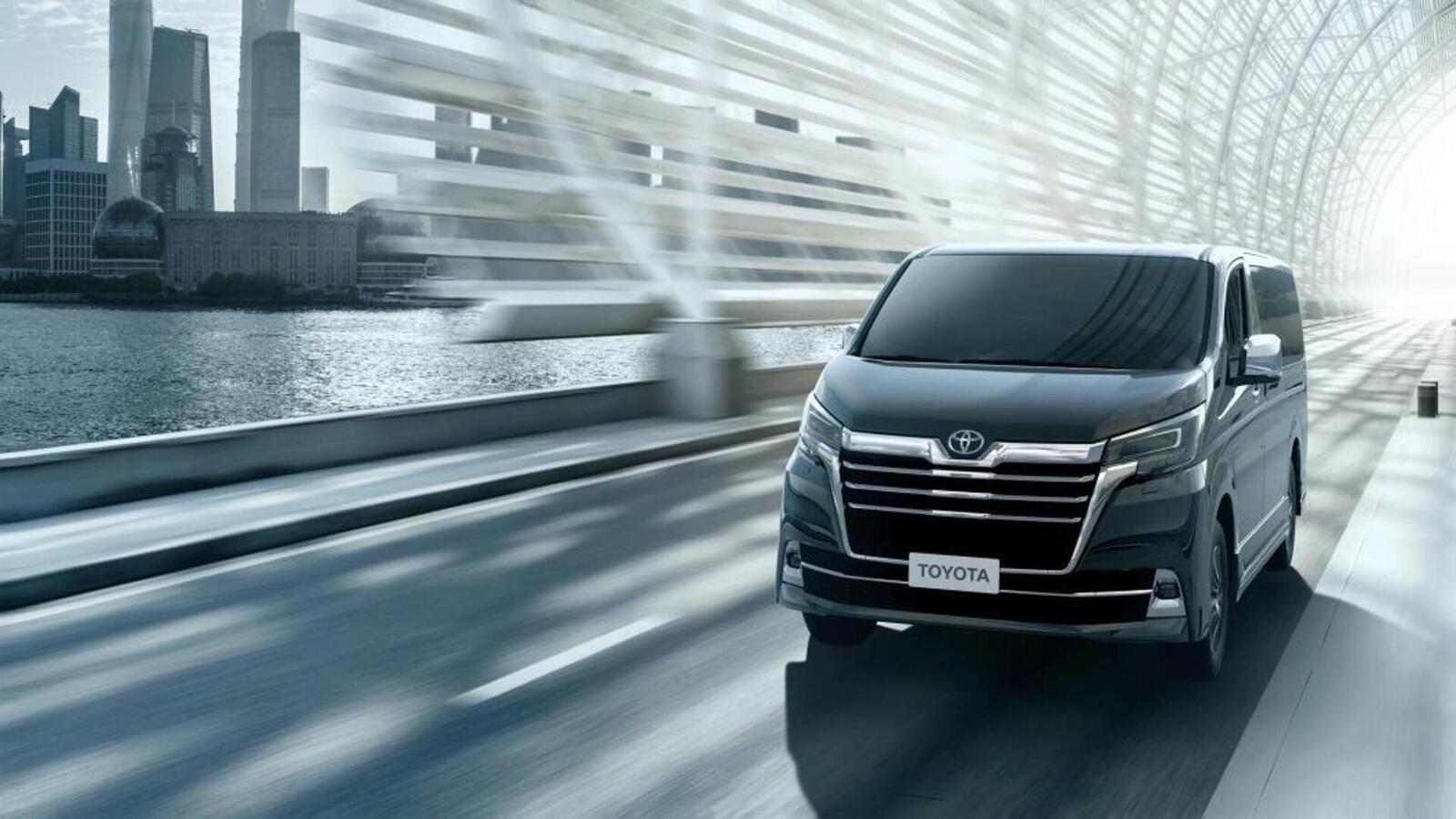 Xem trước MPV Toyota Granvia sắp được ra mắt: Định vị dưới Alphard một bậc - Hình 1