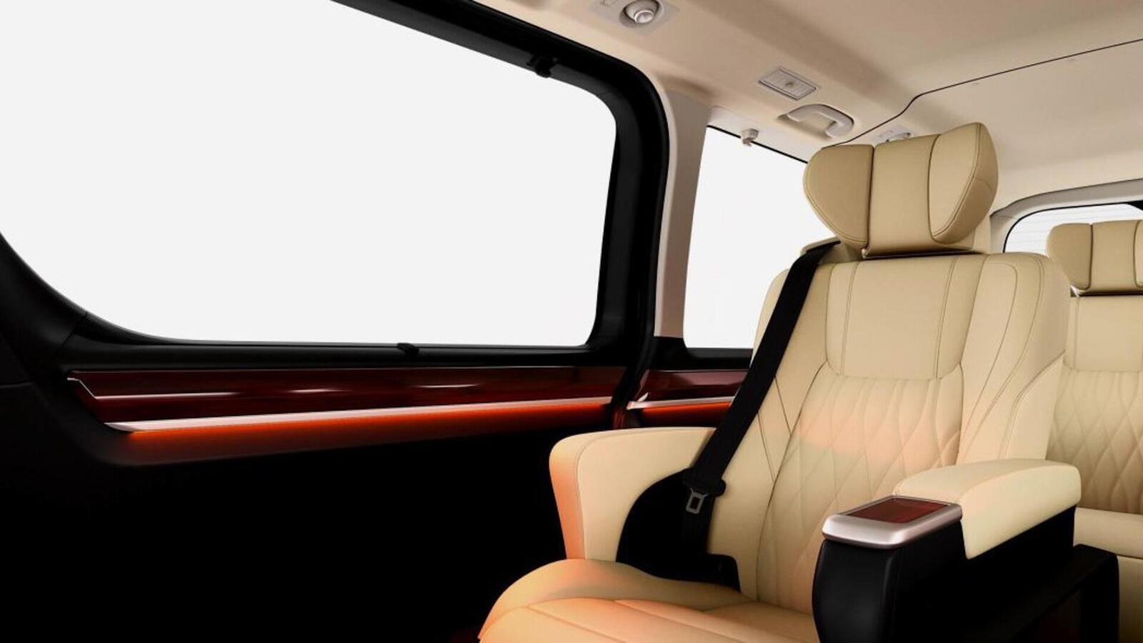 Xem trước MPV Toyota Granvia sắp được ra mắt: Định vị dưới Alphard một bậc - Hình 4