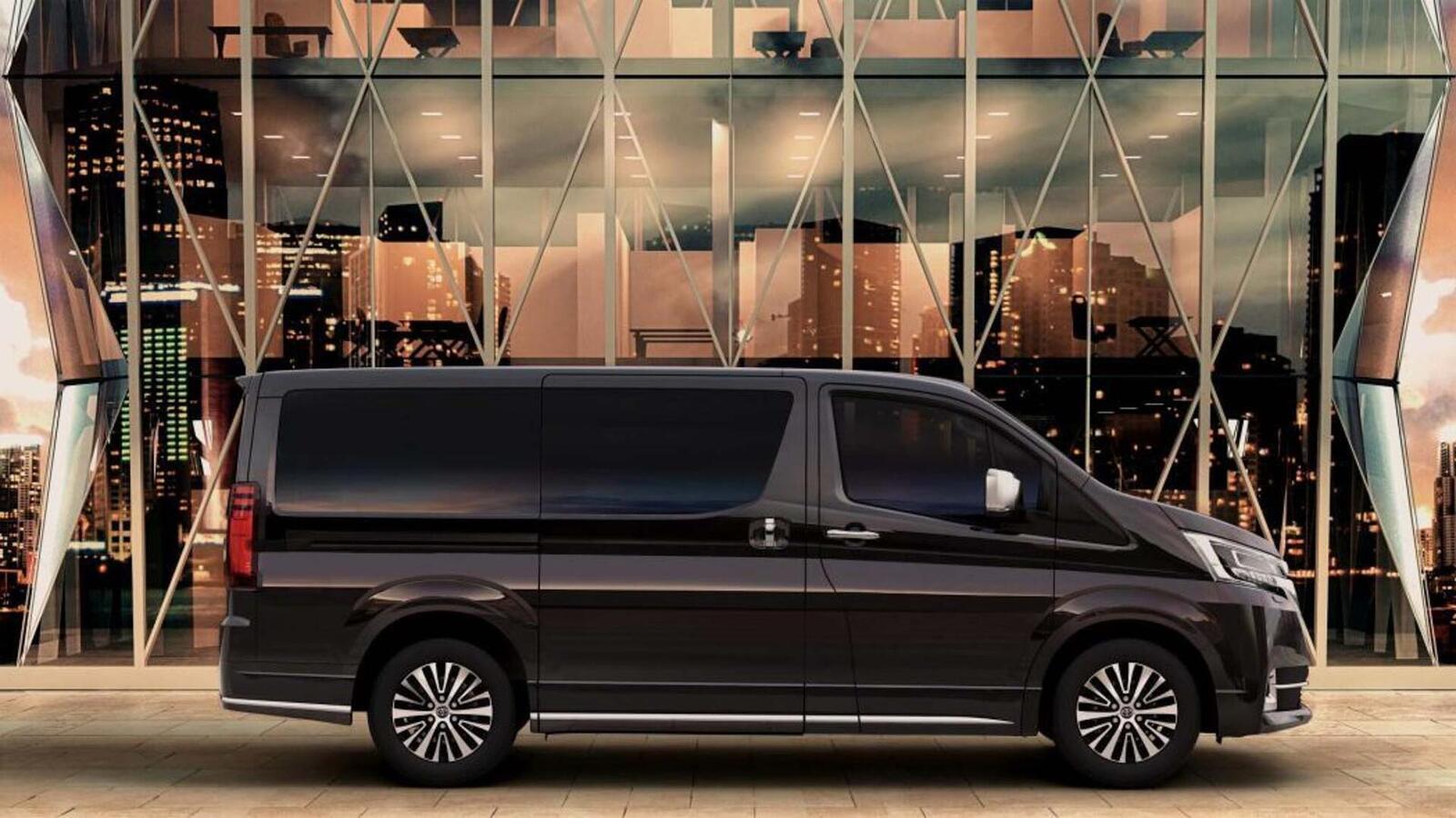 Xem trước MPV Toyota Granvia sắp được ra mắt: Định vị dưới Alphard một bậc - Hình 5