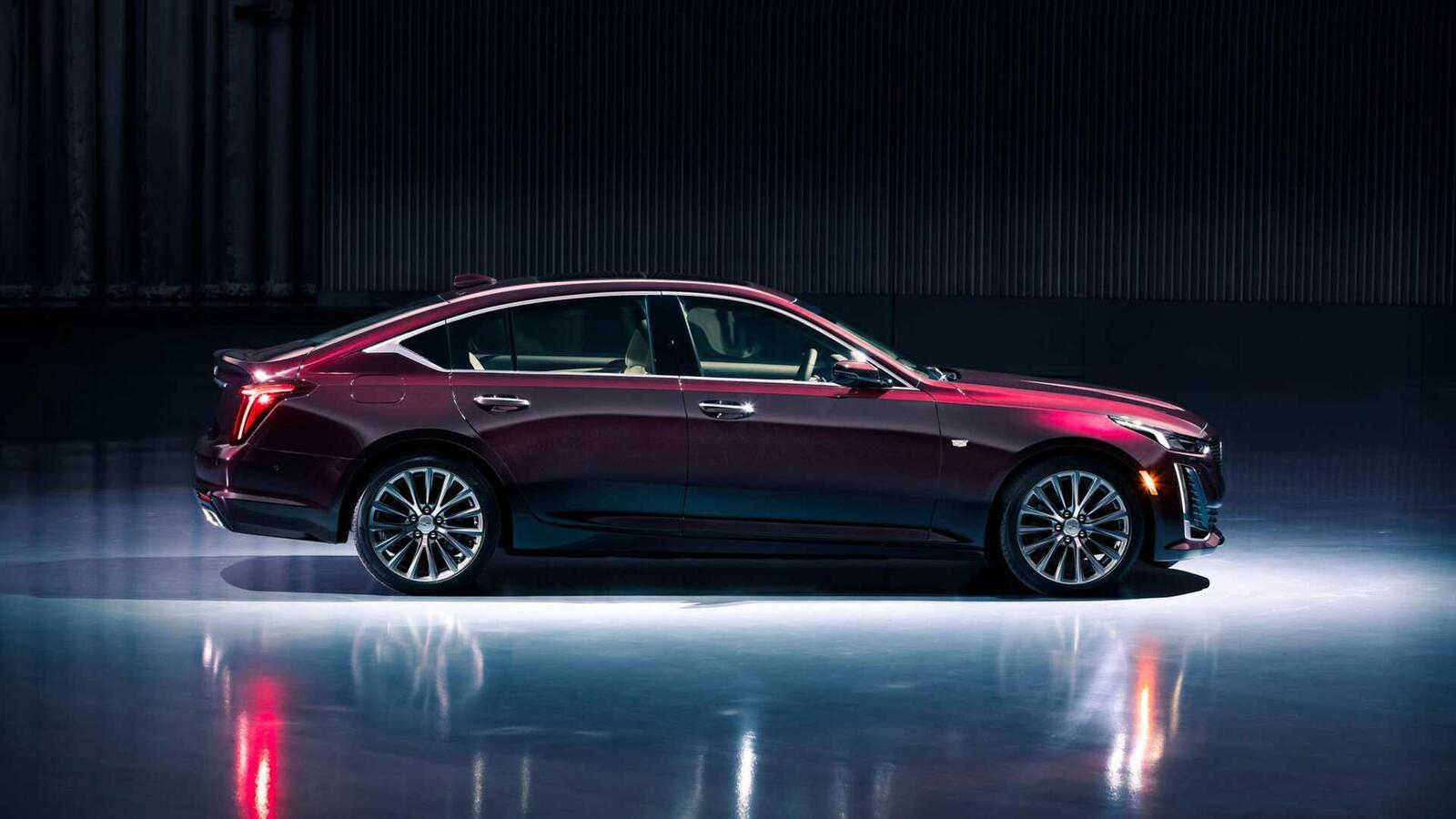 Xem trước sedan Cadillac CT5 hoàn toàn mới trước ngày ra mắt: kẻ thay thế  CTS - Hình 2