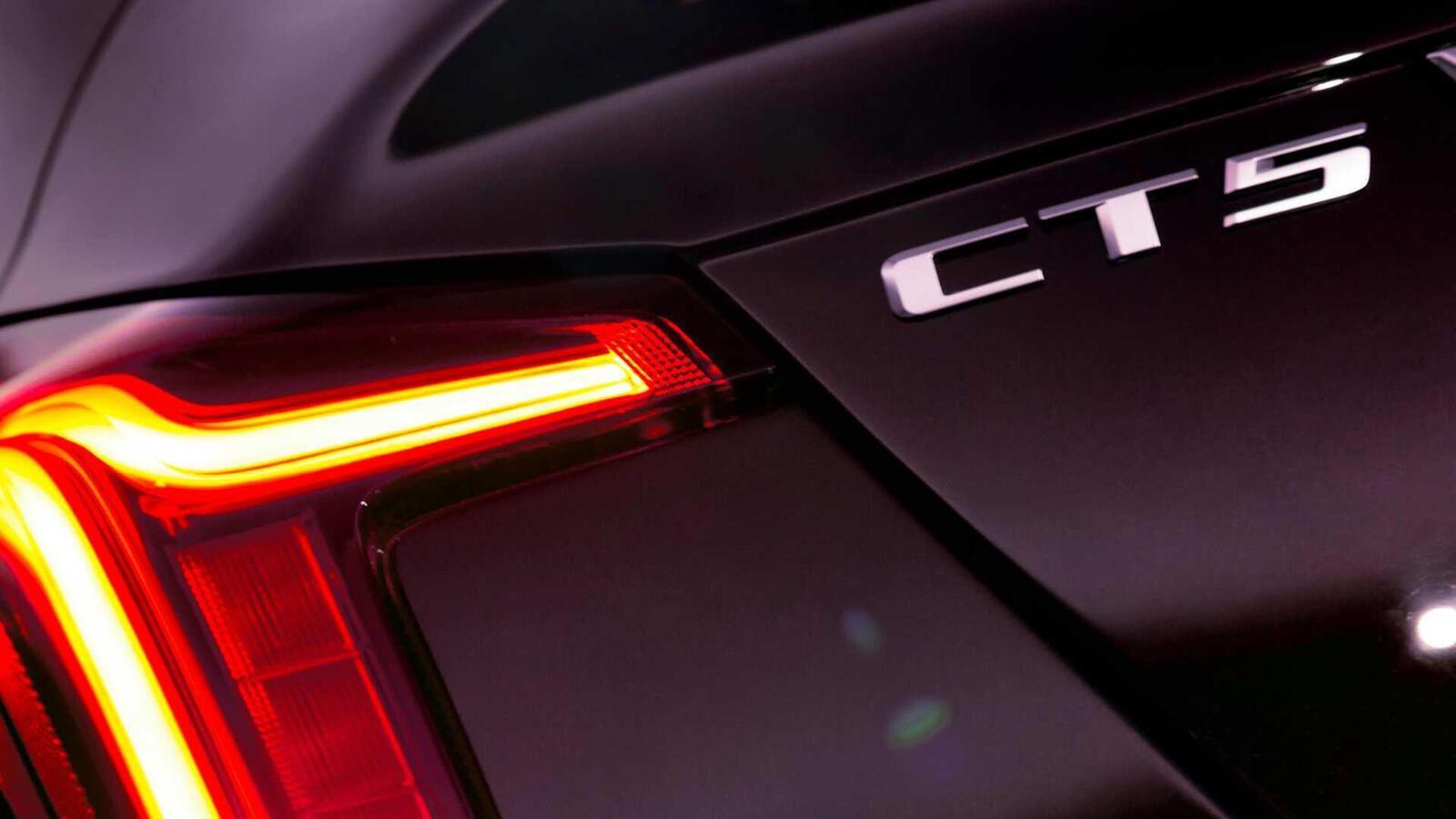 Xem trước sedan Cadillac CT5 hoàn toàn mới trước ngày ra mắt: kẻ thay thế  CTS - Hình 4