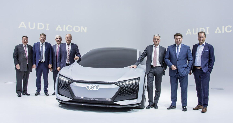 """Xem trước """"xe tương lai"""" của Mercedes-Benz, Audi và BMW - Hình 1"""